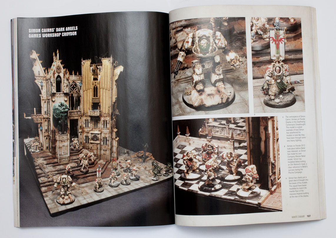 Review White Dwarf February 8 VS January 8 » Tale of Painters
