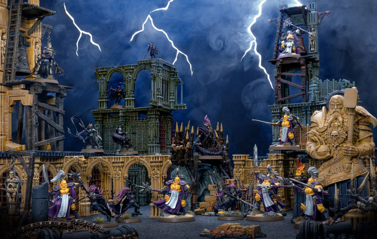 Khainite Shadowstalkers vs Stormcast Eternals